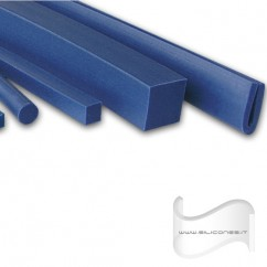 PROFILI IN SILICONE METAL DETECTABLE